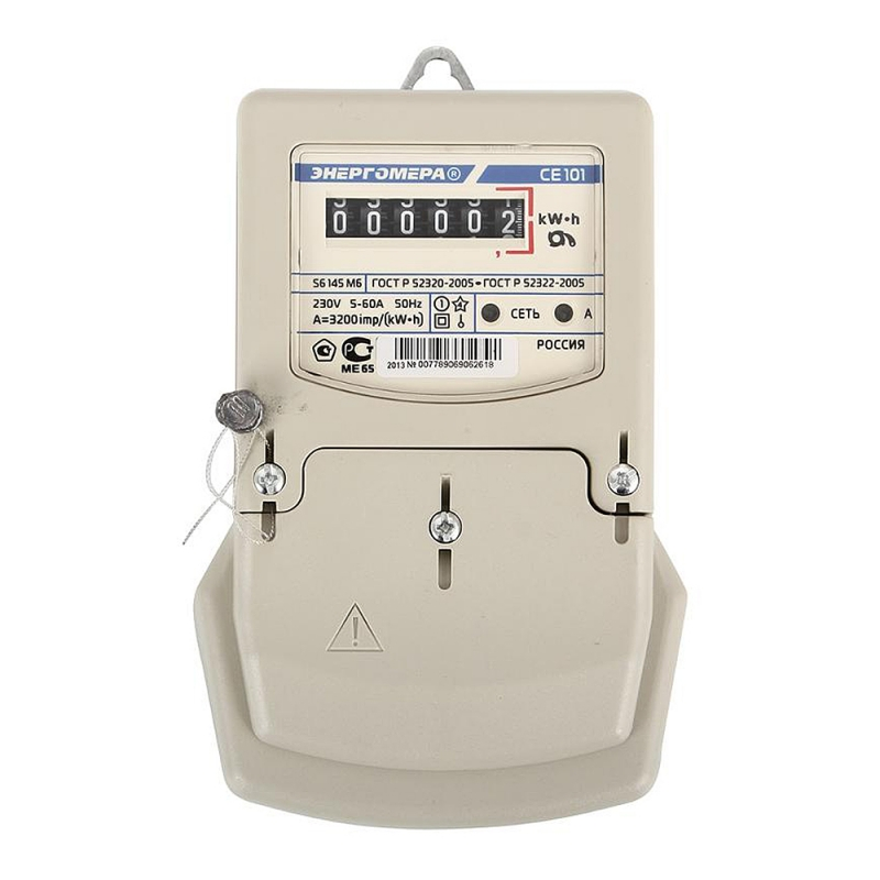 Энергомера CE101-S6